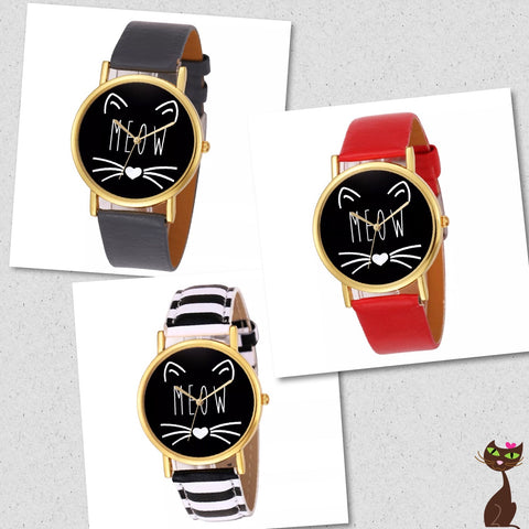 Meow Cat Watch - Nudie Patooties