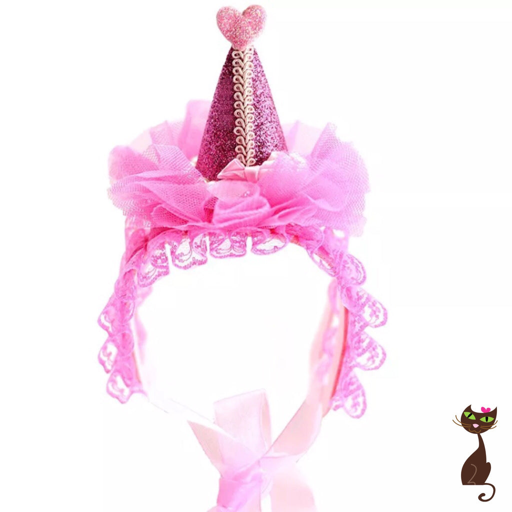 Party Hat and Crown for Cats - Nudie Patooties