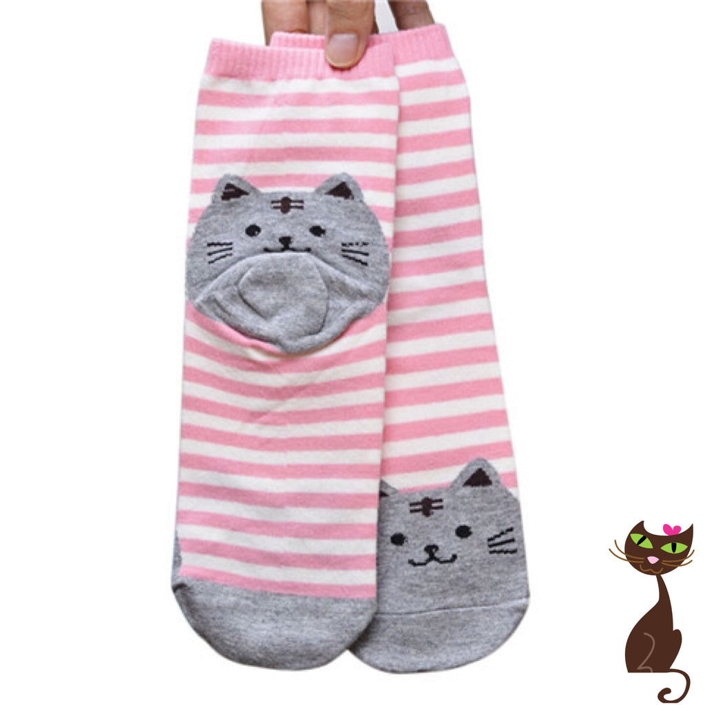 Cat Stripe Socks - Nudie Patooties  Sphynx cat clothes for your sphynx cat, sphynx kitten, Donskoy, Bambino Cat, cornish rex, peterbald and devon rex cat.