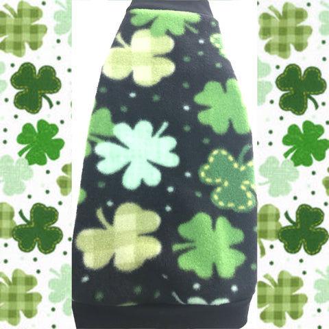 "Black and Green Fleece ""Little Leprechaun"" - Nudie Patooties"