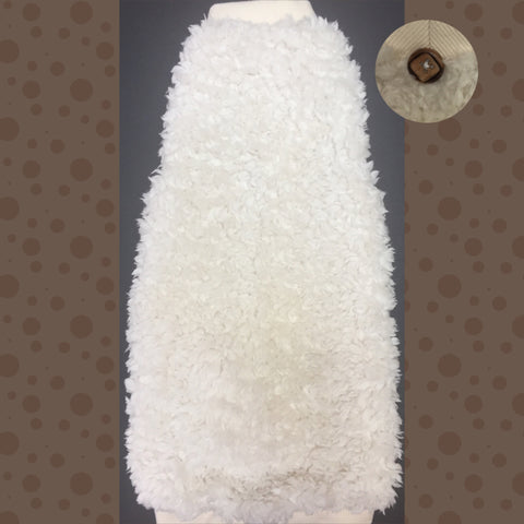 Cream Sherpa Faux Fur
