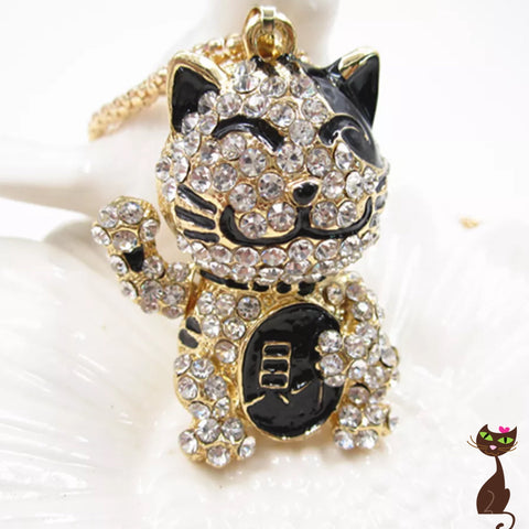 Lucky Fortune Cat Necklace - Nudie Patooties