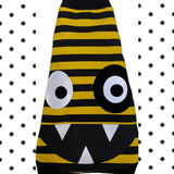 "Yellow and Black Stripe ""Monster Mash"""