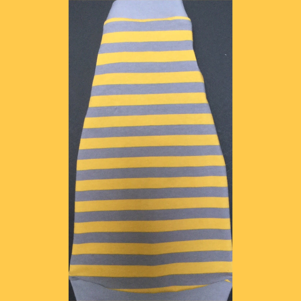 Grey and Yellow Stripe