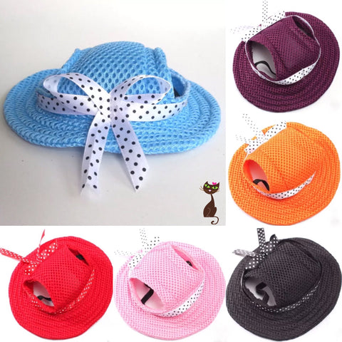 Mesh Hat for Cats
