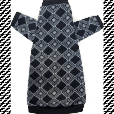 "Long Sleeve Black Diamond Fleece ""Shine Bright"" - Nudie Patooties"