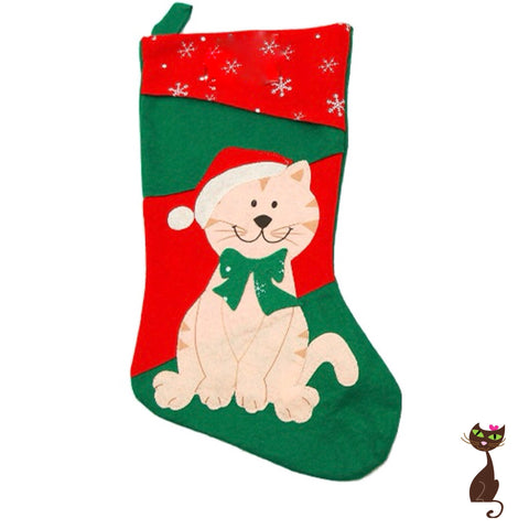 Christmas Stocking for Cats - Nudie Patooties  Sphynx cat clothes for your sphynx cat, sphynx kitten, Donskoy, Bambino Cat, cornish rex, peterbald and devon rex cat.