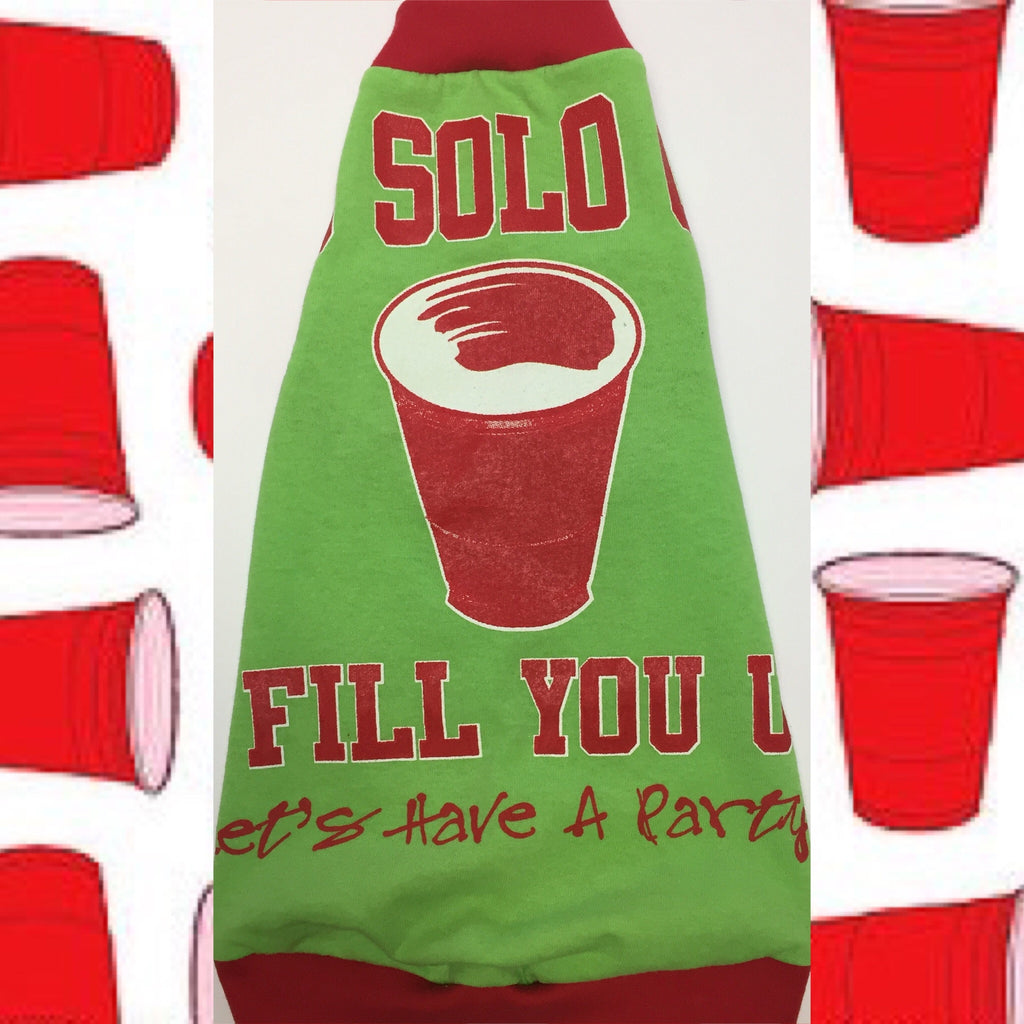 Red Solo Cup I Fill you Up: Let's Have a Party - Nudie Patooties