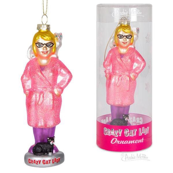 Crazy Cat Lady Ornament - Nudie Patooties