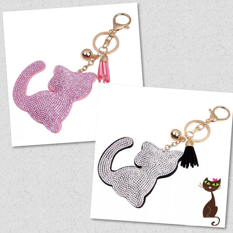 Cat Bag Beaded Charm - Nudie Patooties
