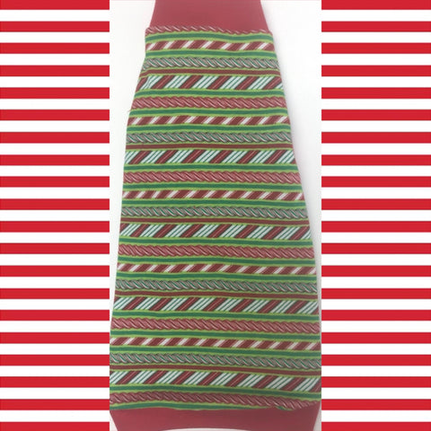 "Christmas Stripe Shirt ""Rockin' Around the Christmas Tree"" - Nudie Patooties  Sphynx cat clothes for your sphynx cat, sphynx kitten, Donskoy, Bambino Cat, cornish rex, peterbald and devon rex cat."