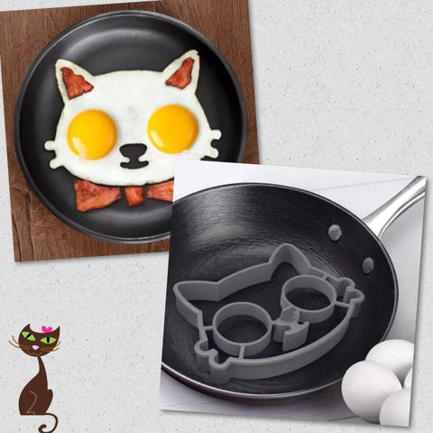 Cat Kitchen Silicone Egg Shaper - Nudie Patooties