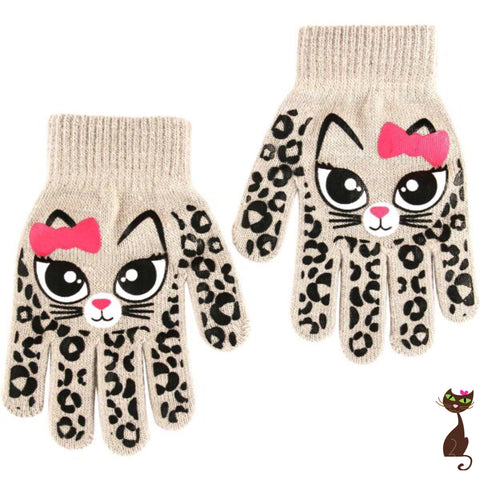 Kids Cat Gloves