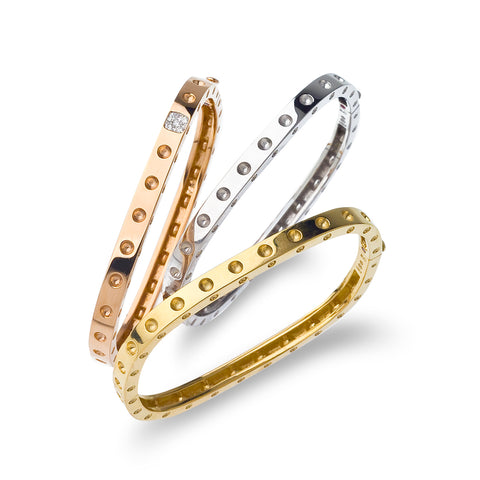 Roberto Coin Pois Moi collection Bangles