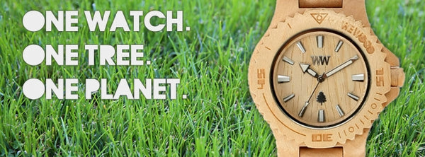 WeWood watches One watch One tree One planet