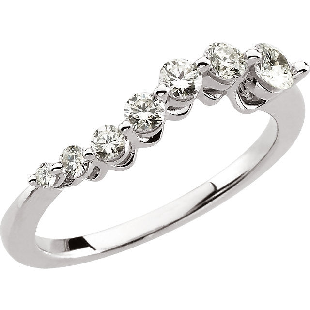 JOURNEY Diamond Ring 14kt White Gold
