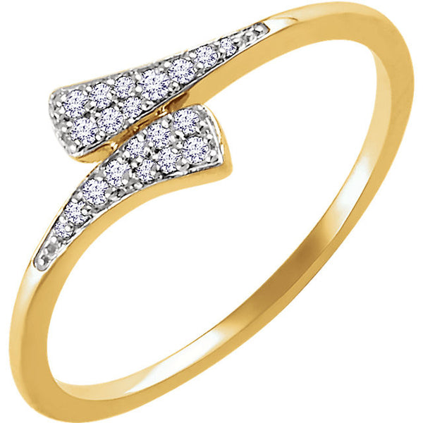 DIAMOND RING 14KT GOLD