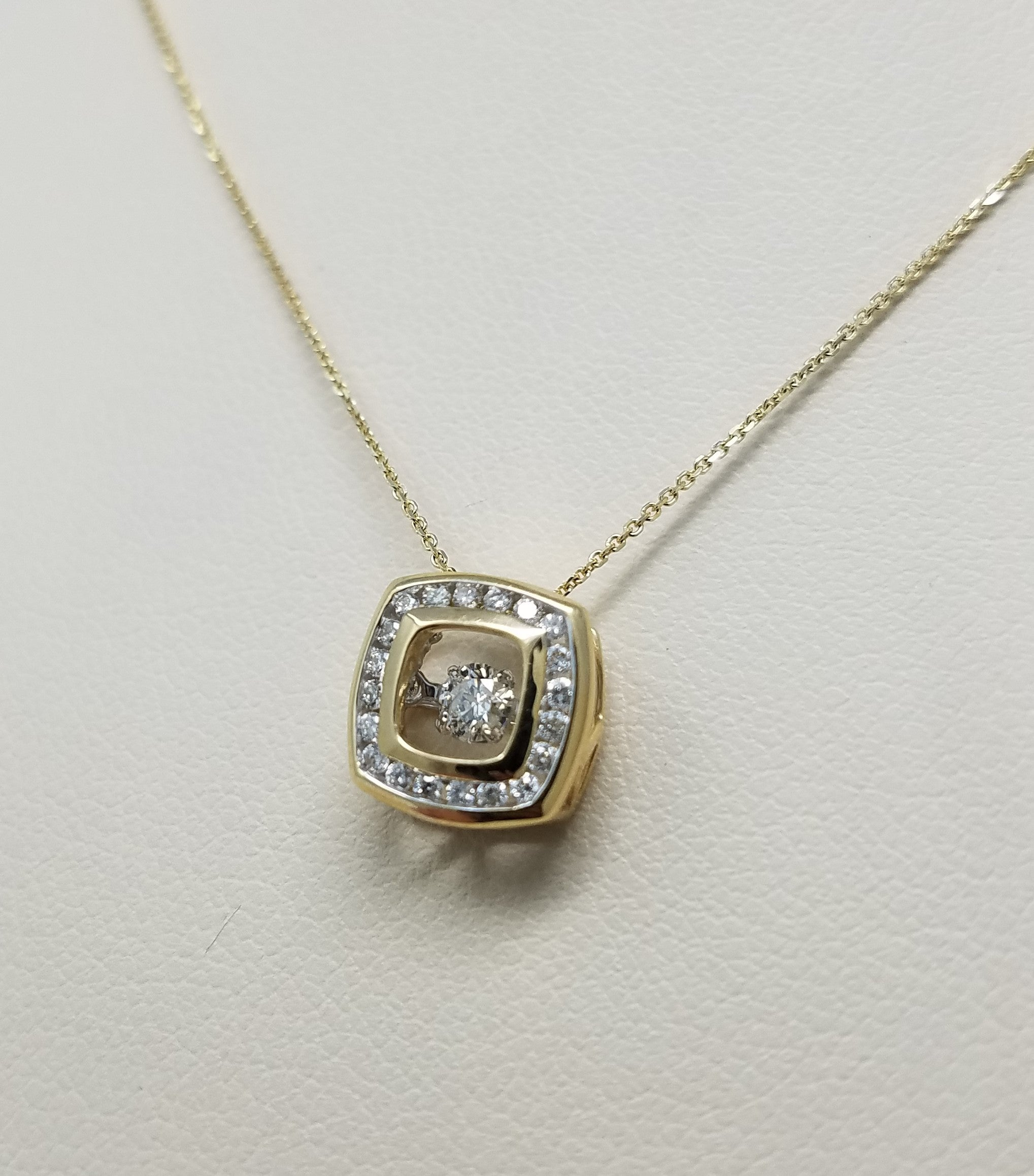 white pendant necklace square gold g ct sdp product diamond