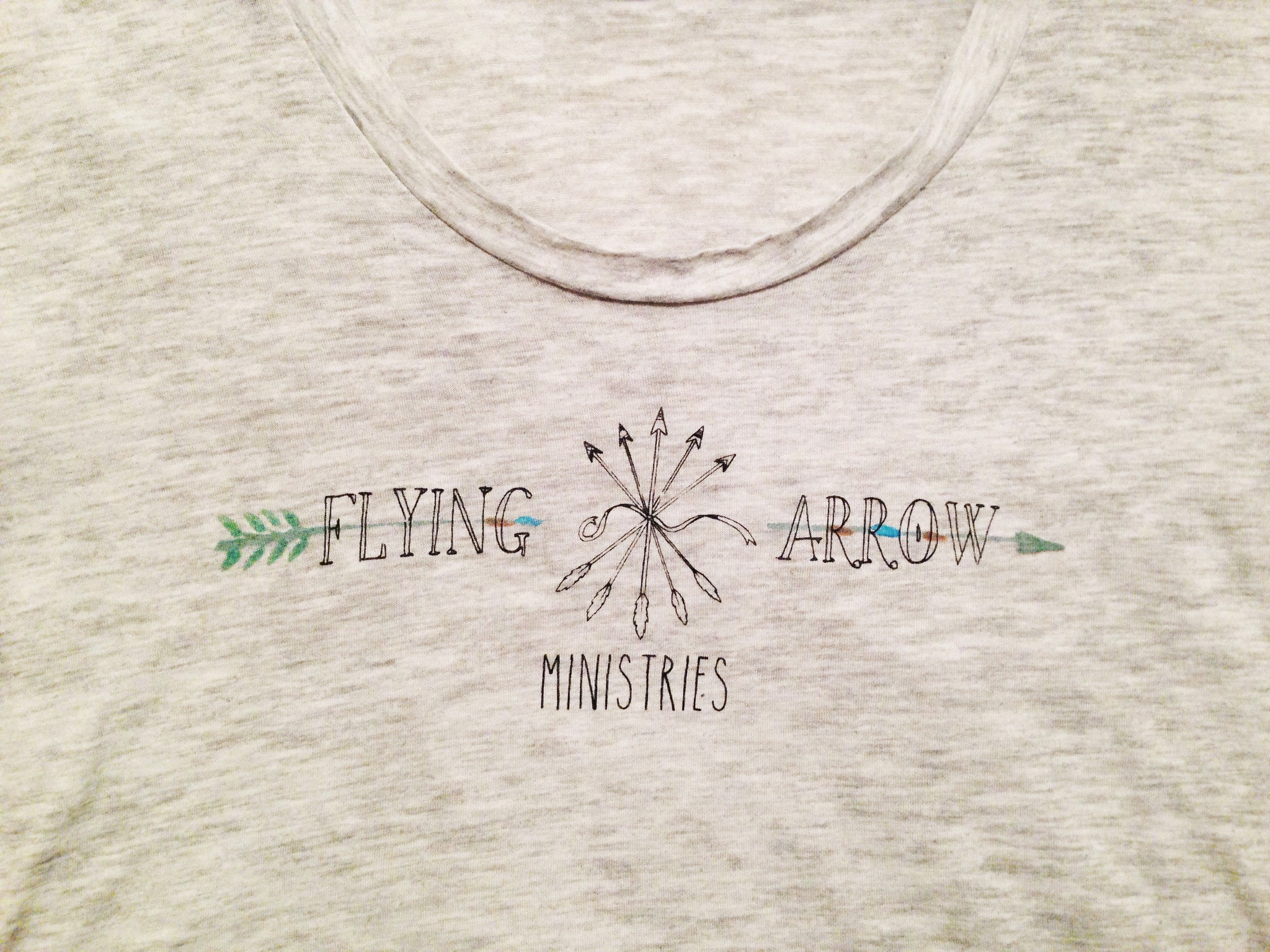 Flying Arrow Ministries Logo T-Shirt