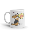 Intl - Cardigan Corgi Candy Heart Mug - Tri-Color