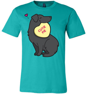 Aussie Candy Heart Tee - Black