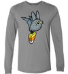 Candy Corn Bat Long Sleeve Tee