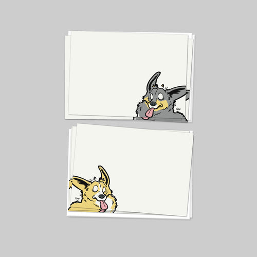Give A Fluff Corgi Note Cards.