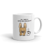 Coffee and Frenchies Mug - Red Fawn Pied