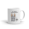 Tea and Frenchies Mug - Blue Pied 1