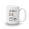 Tea and Frenchies Mug - Cream 2