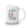 Tea and Frenchies Mug - Fawn Pied 1