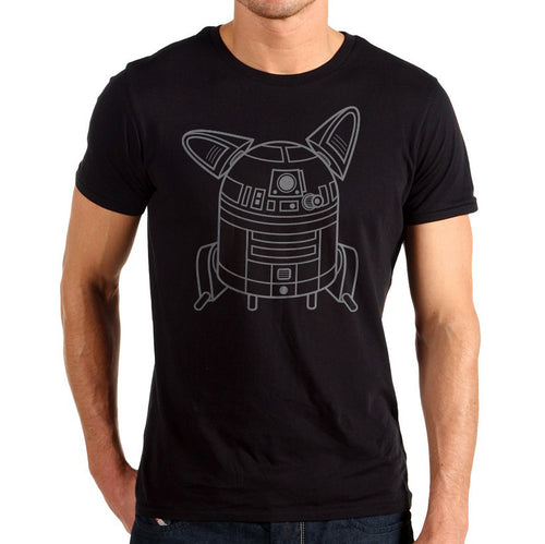 R2DOG2 in Light Grey print color.