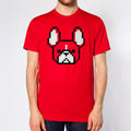 8-bit Frenchie Unisex T-shirt.