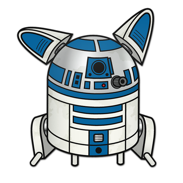 R2DOG2 Sticker