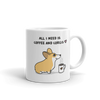 Coffee and Corgis Mug - Red and White