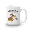 Coffee and Corgis Mug - Sable