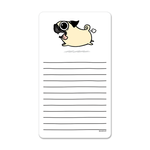 Crazy Pug Notepad