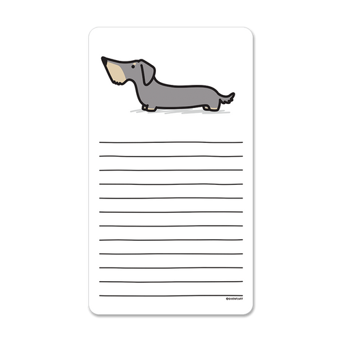 Wirehaired Doxie Notepad