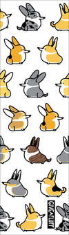 All the corgis on the pen.