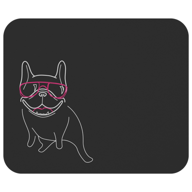 Frenchie Lines Mousepad