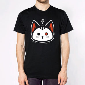Flustered Cat T-shirt.