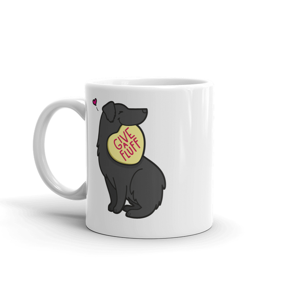 Aussie Candy Heart Mug - Black