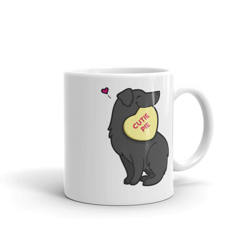 Intl - Aussie Candy Heart Mug - Black