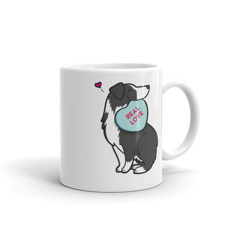 Intl - Aussie Candy Heart Mug - Black Bi-Color