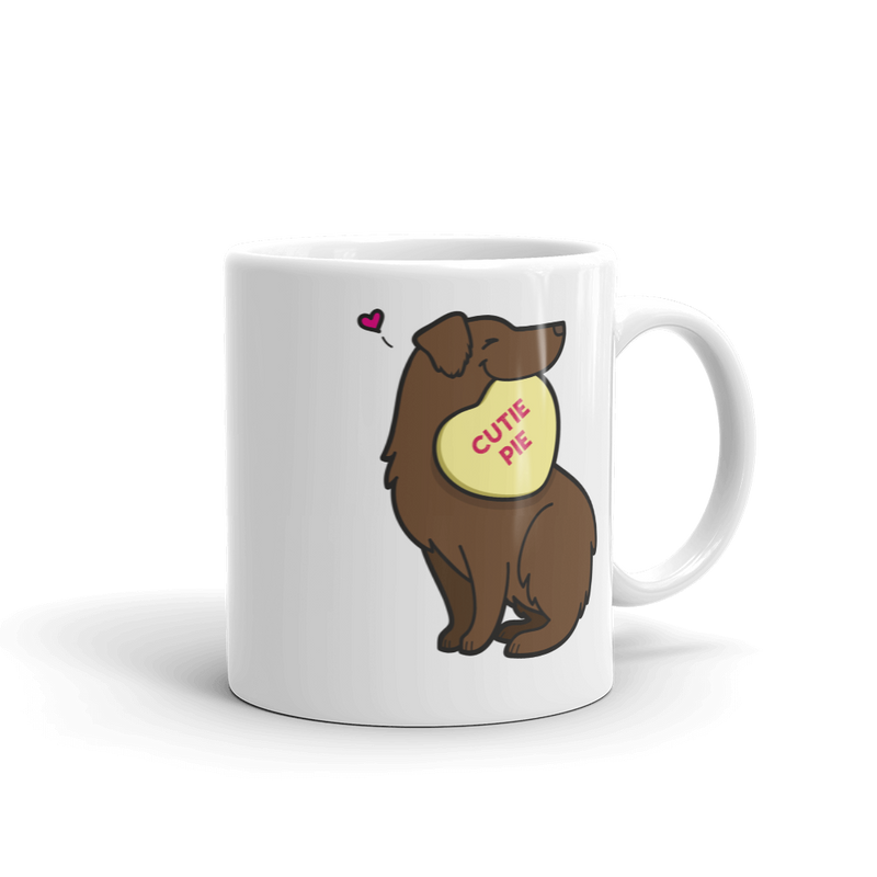 Intl - Aussie Candy Heart Mug - Red