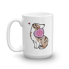 Aussie Candy Heart Mug - Tan Point Red Merle