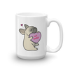 Intl - Frenchie Candy Heart Mug - Fawn with Mask