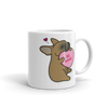 Frenchie Candy Heart Mug - Red Fawn