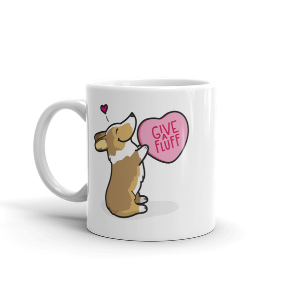 Intl - Corgi Candy Heart Mug - Sable