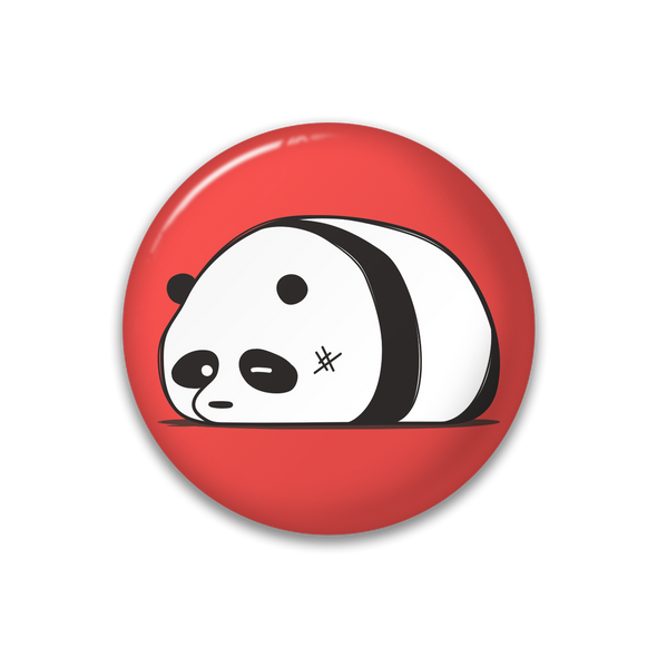 Panda Pin Button